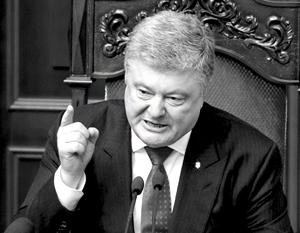 Со строительством Крымского моста и проведением ЧМ-2018 в России  Порошенко уже боролся...
