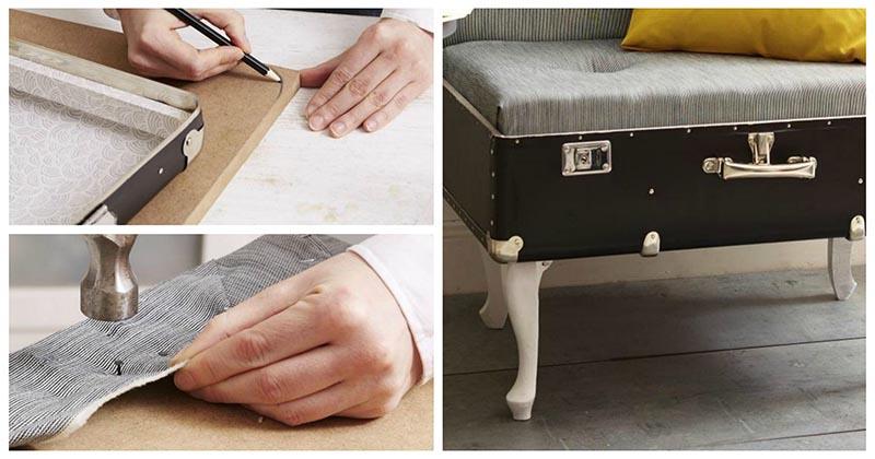 Девушка до неузнаваемости преобразила старый любимый чемодан. Результат поразил всех родных