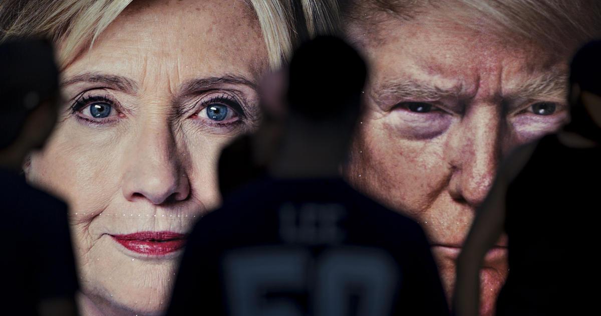 Трамп постебался над Клинтон…