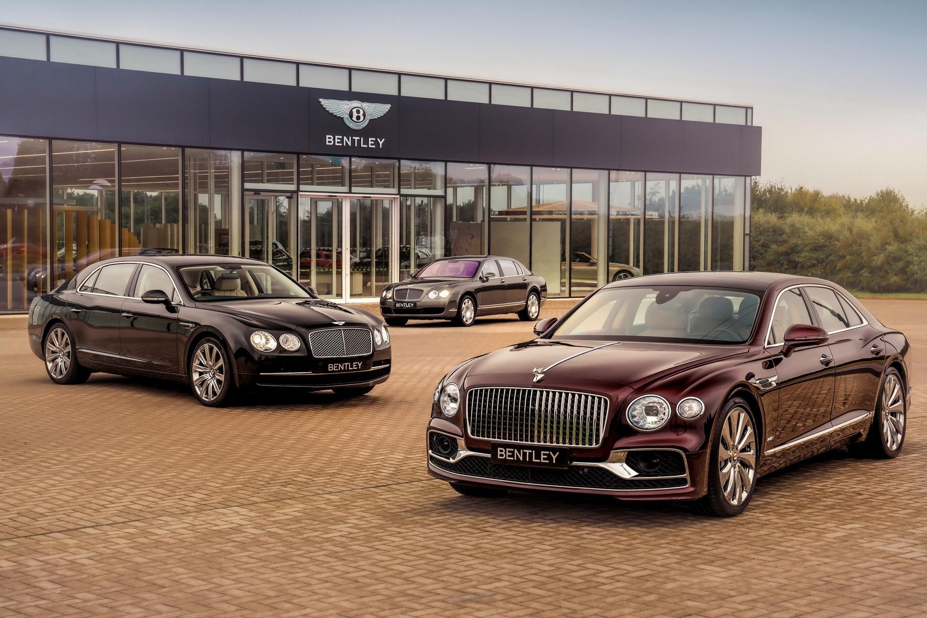 Bentley объявила о рекордных продажах в 2020 году Новости