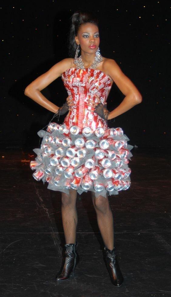 10. Создатель случайно не фанат газировки? горе модники, дизайн, мода, смешно, трэш, фото