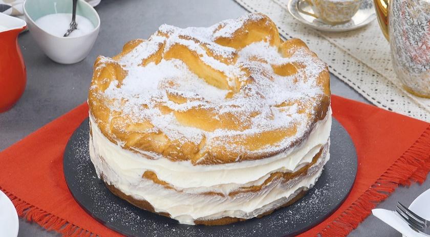 Нежный торт «Карпатка» из заварного теста: безумно вкусный десерт