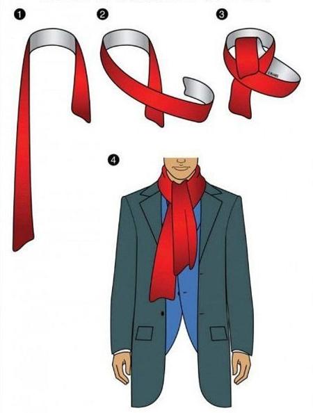 Мужская элегантность: всё дело в шарфе