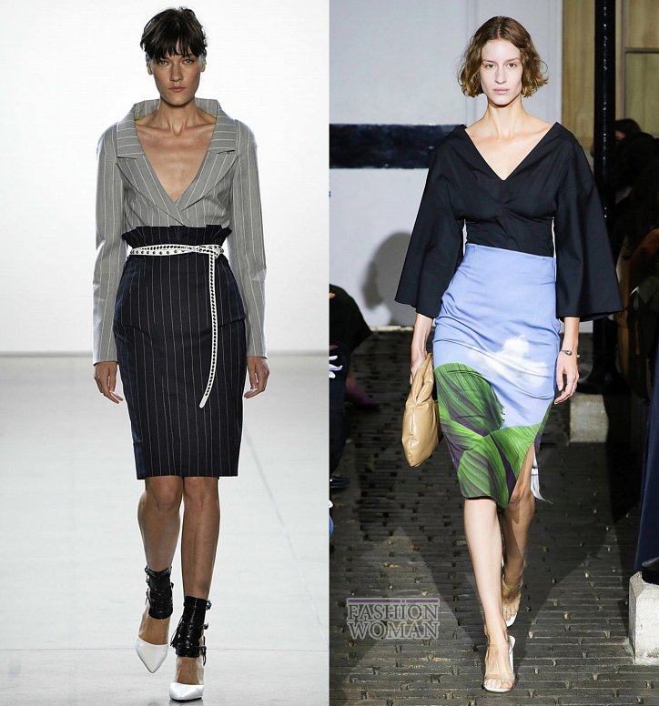 Модные юбки весна-лето 2019 фото №9