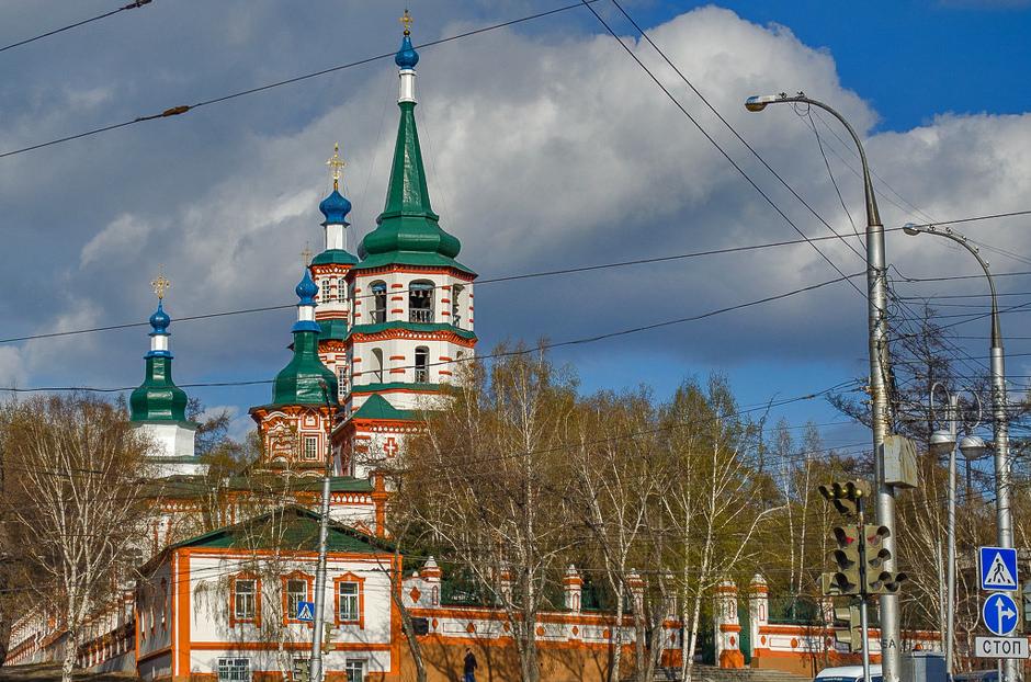 будет фото крестовоздвиженской церкви в иркутске как