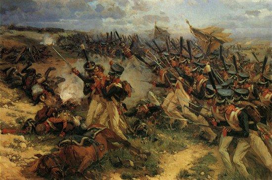 Bataille de la Moskova Бородино     (Сергей Георг Сретенский)