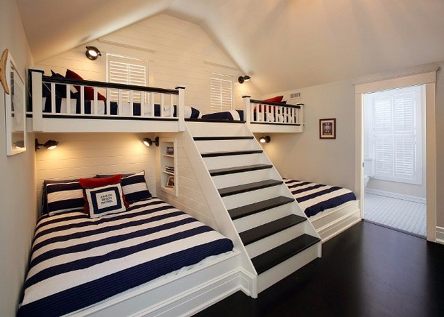 Крутая идея экономии места в квартире многодетной семьи