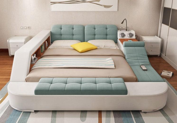 Создана многофункциональная кровать, которую не хочется покидать - утренняя радость! )))