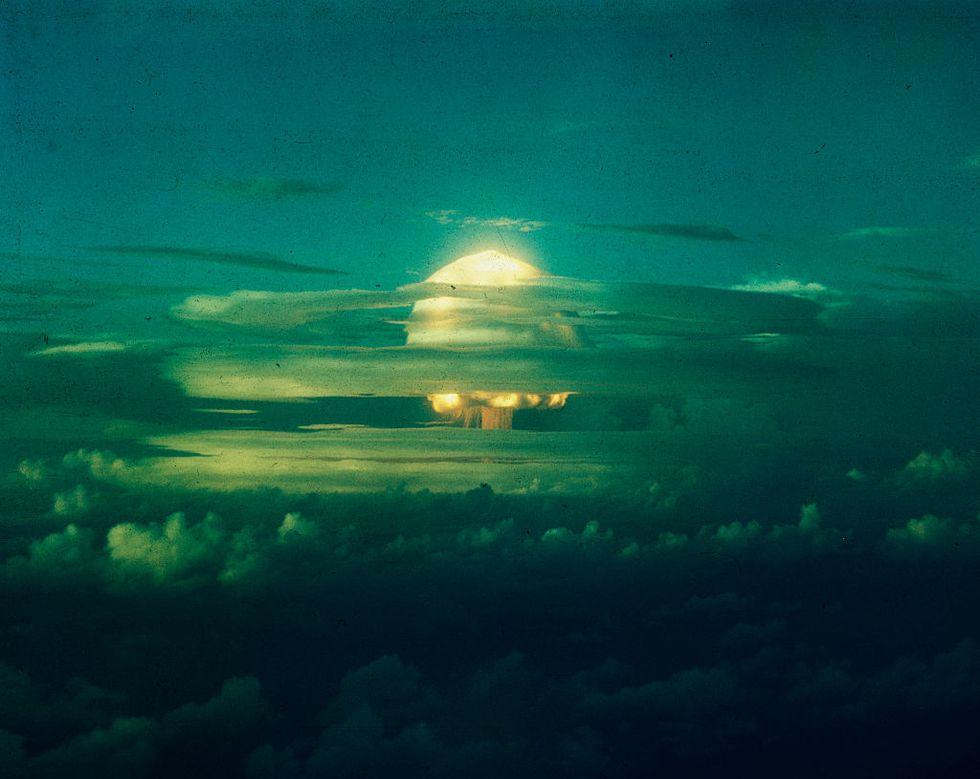 Голубой павлин: ядерная мина, которую должны были взорвать цыплята