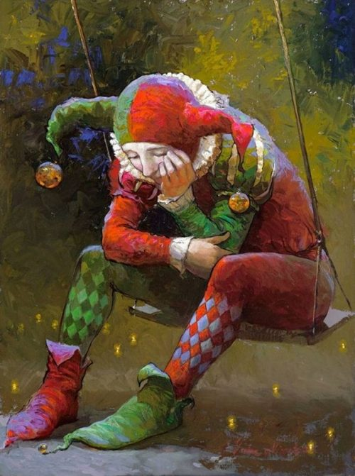 клоун 4 (500x671, 67Kb)