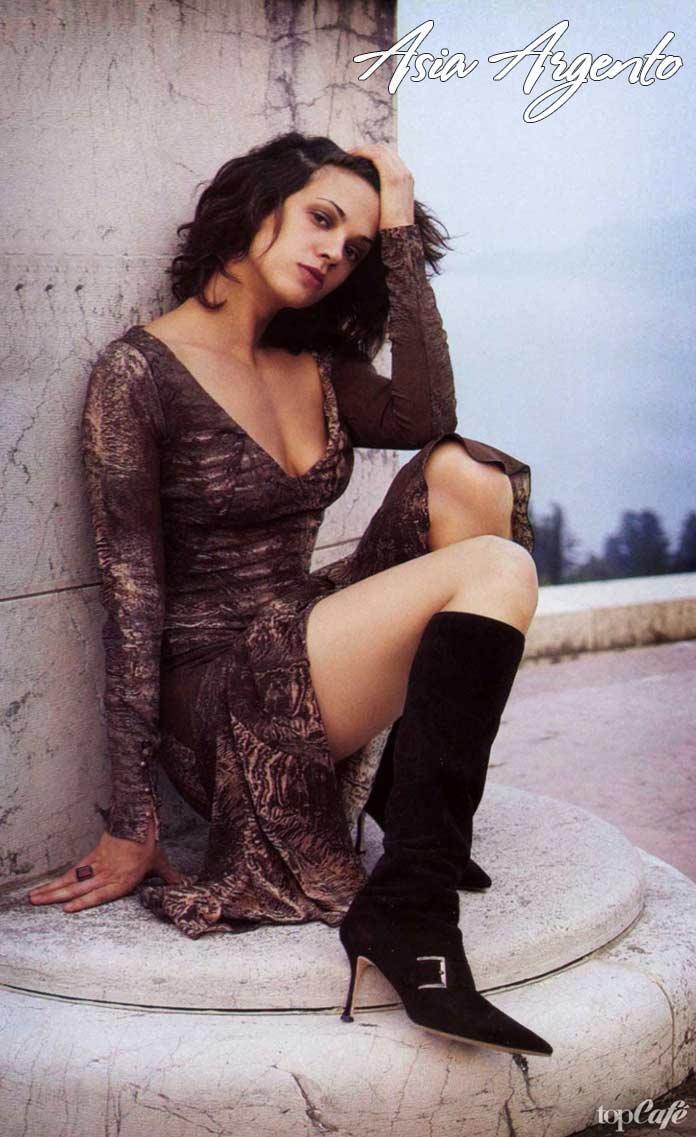 Красивые итальянские актрисы: asia argento