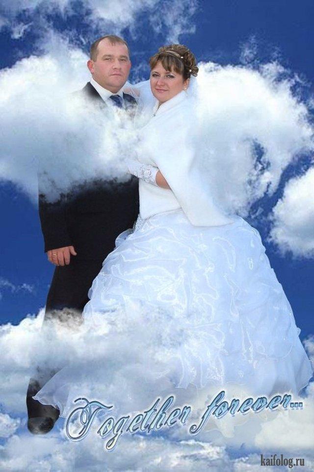 фотомонтаж свадебных фотографий цены наличие