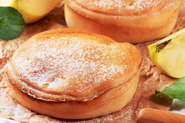 Песочное тесто идеально сочетается с ягодой.