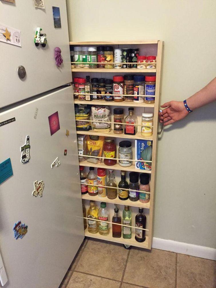 Превращаем крошеЧное пространство на кухне в идеальную кладо.