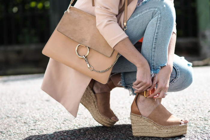 Удобная обувь лето