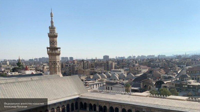 Мощный взрыв прогремел на окраине Дамаска