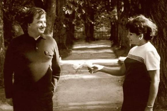 30 лет Алексей Консовский не замечал свою любовь, и только в 58 он пригласил её в ЗАГС актер,Алексей Консовский,звезда,Золушка,наши звезды,фильм,фото,шоубиz,шоубиз