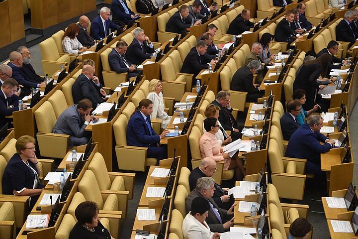 В России могут создать моральный кодекс для депутатов