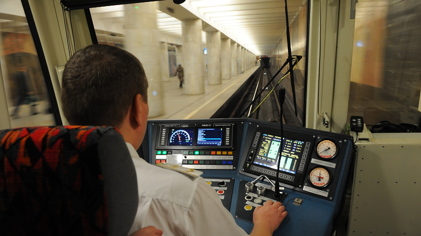 Систему контроля машинистов «Антисон» внедрили в столичном метро