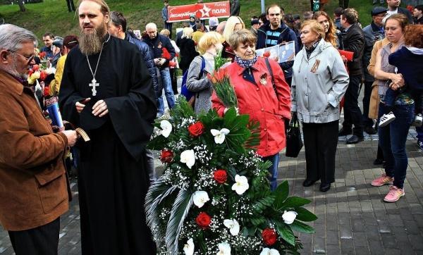 День Победы вВильнюсе прошел без инцидентов