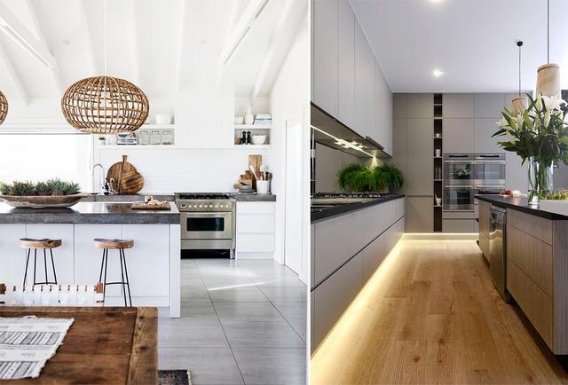 интерьер кухни в современном стиле фото