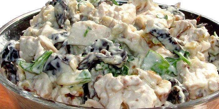 салат праздничный рецепт с курицей