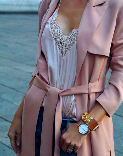 Шикарные образы в пудровых оттенках розового - 14 нежных идей на весну-лето 2019