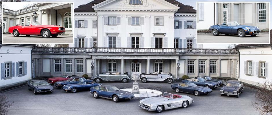 Коллекция классических автомобилей стоимостью более £2 000 000