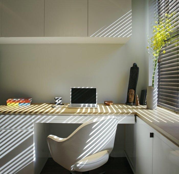 Уютный офис в стиле минимализма.
