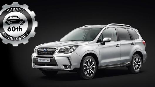 Юбилейный Subaru Forester - российским фанатам марки