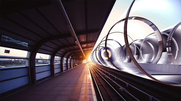 Hyperloop  Фото: 34travel.