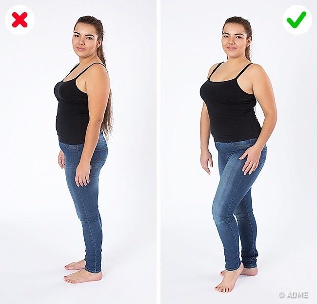 как на фото выглядеть худее стиль используется, основном