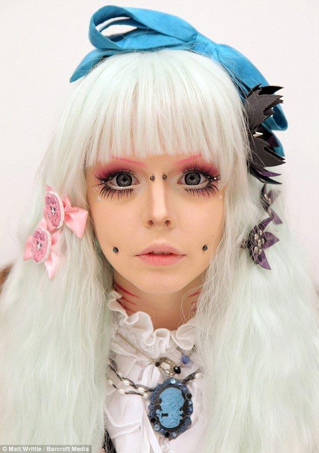 живые куклы барби, люди превратили себя в кукол