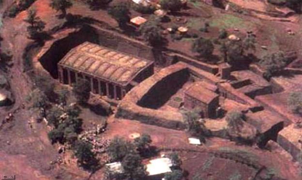 Лалибэла Эфиопия храмы