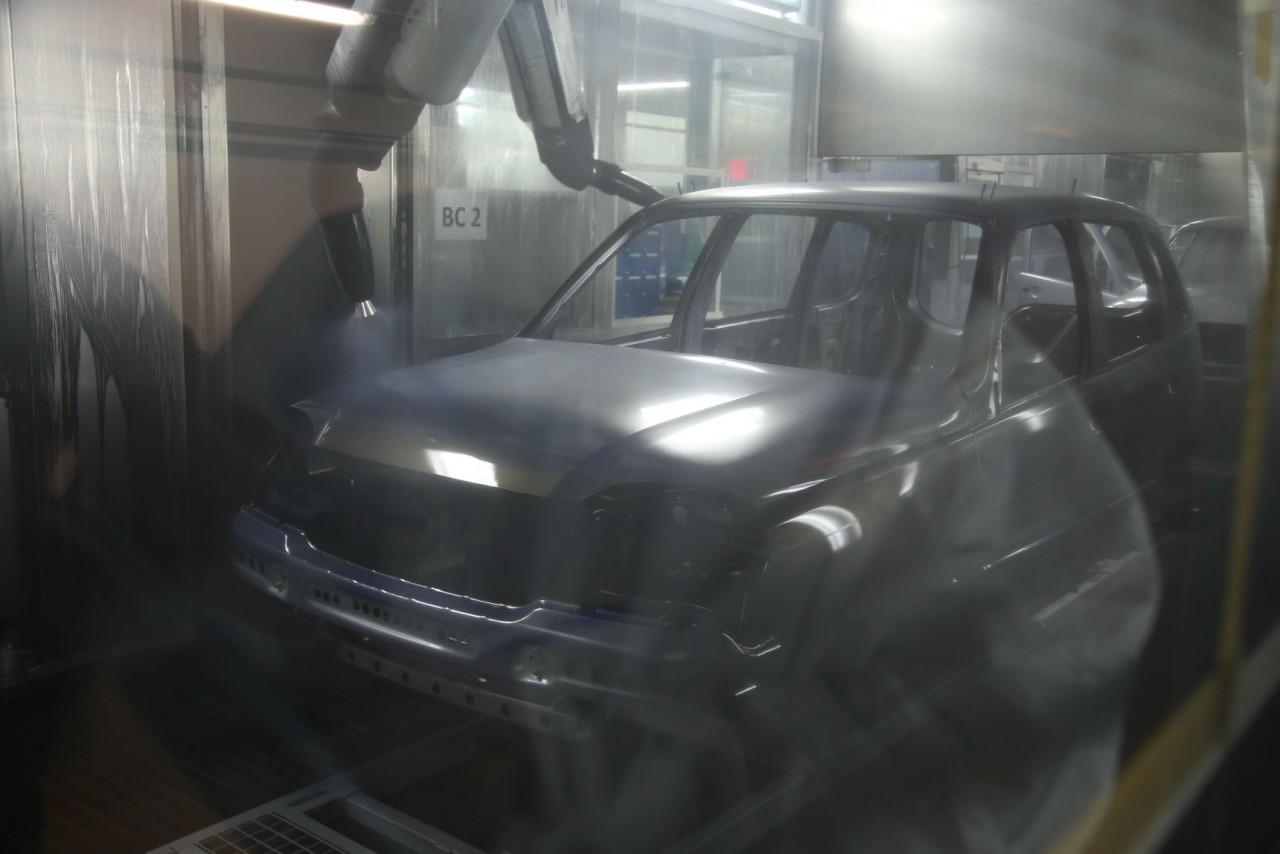 Как красят Chevrolet Niva: самый секретный цех СП GM-АВТОВАЗ