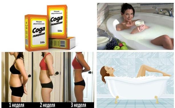 какую ванну лучше принимать для похудения