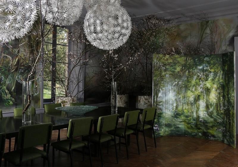 Цветочный замок Клер Баслер домашний очаг,живопись,творчество