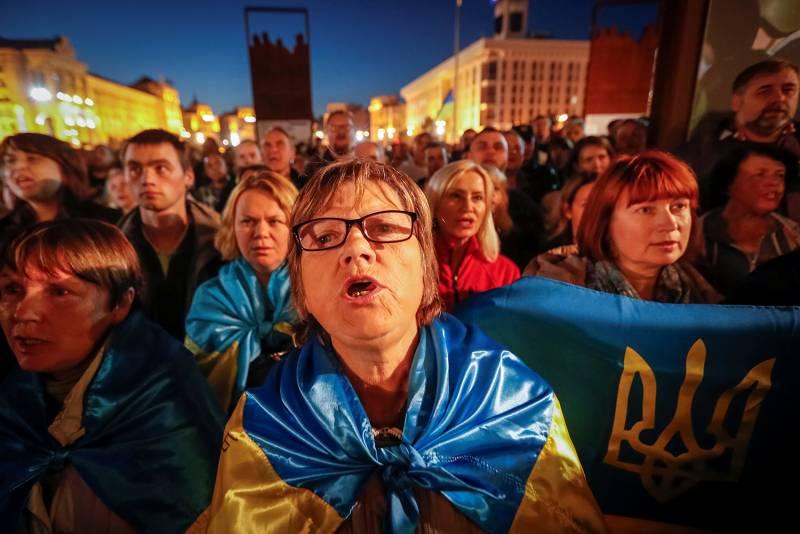 Противники мира. На Украине готовится «антиштайнмайерский» майдан украина