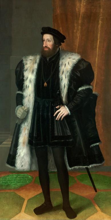 Реальные рыцарские доспехи императора Фердинанда I, 1526 г. дальние дали