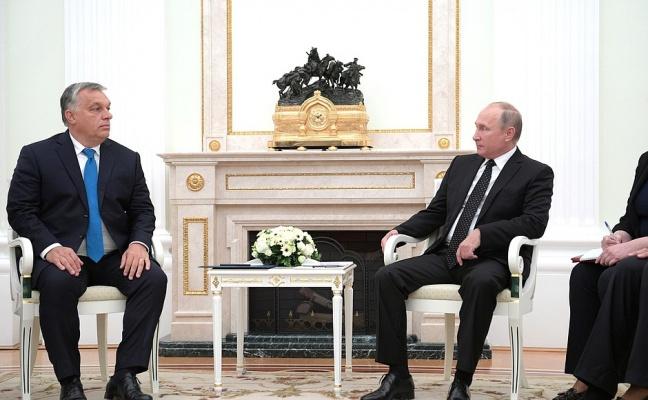 Путин: Отношения сВенгрией развиваются практически повсем направлениям