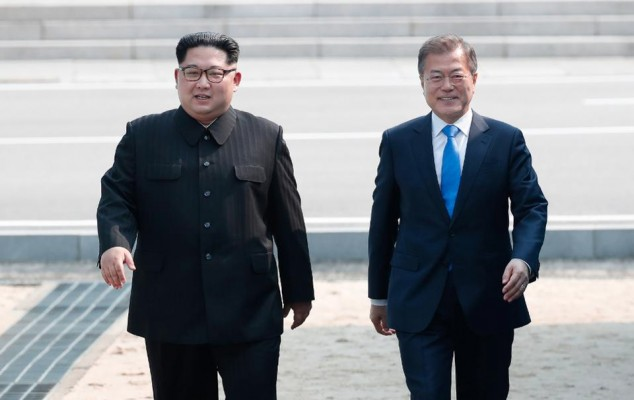 Ким Чен Ынизвинился перед Мун Чжэ Ином за«потертый вид» гостиницы