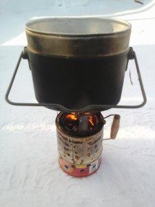 пиролизная печь из консервной банки