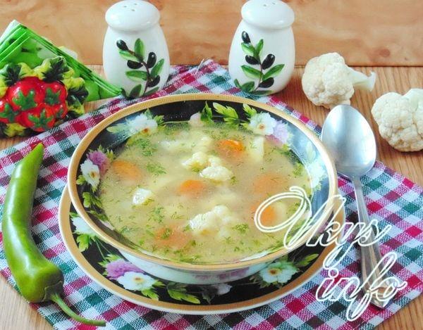 Суп с гречкой и овощами
