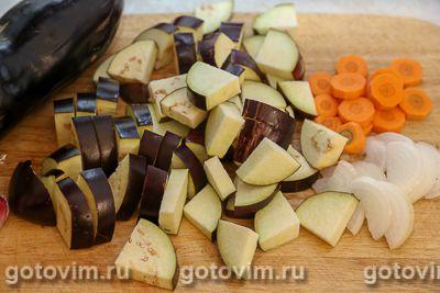 Мясо с баклажанами по-грузински, Шаг 02