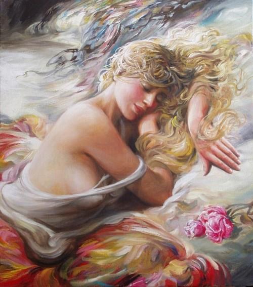 женский образ Аркадий Острицкий - 05