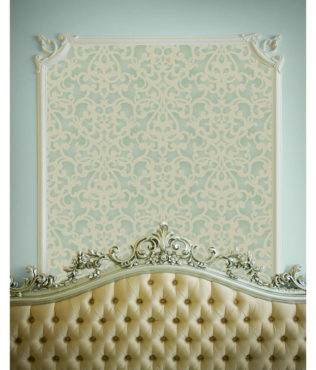 Мебель и предметы интерьера в цветах: бирюзовый, серый, светло-серый, бежевый. Мебель и предметы интерьера в стиле классика.