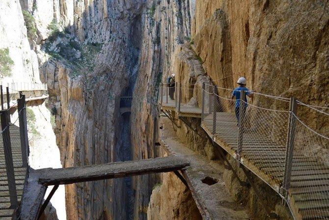 Королевская тропа, Испания путешествия, факты, фото