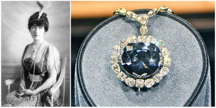 Алмаз Надежды: один из самых известных алмазов в истории. \ Фото: thevintagenews.com.