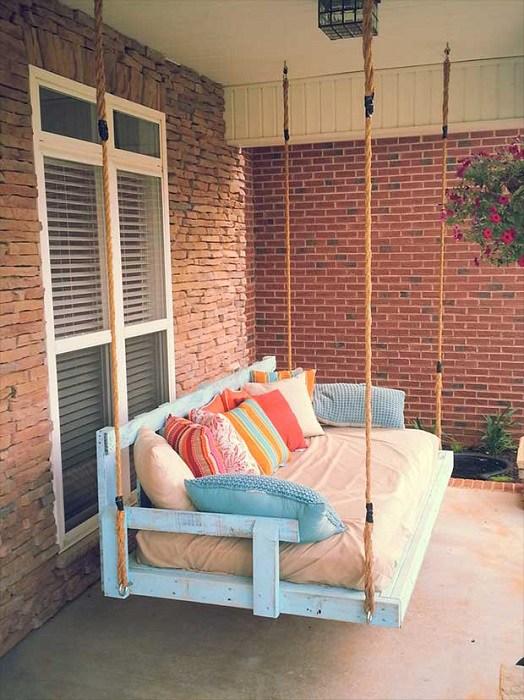 Оригинальная мебель для паллет для дома и сада гостиная
