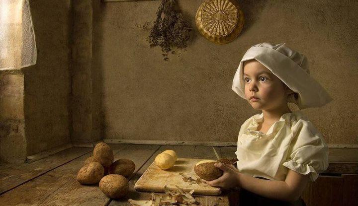 Что умела деревенская девочка в 10 лет